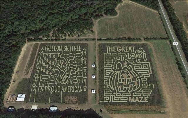 corn maze alabama